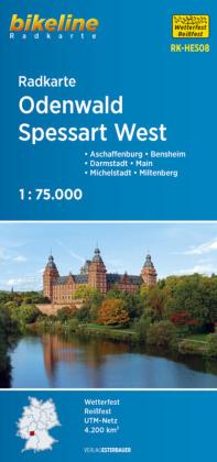 Odenwald / Spessart fietskaart