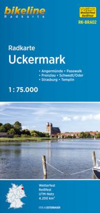 Uckermark fietskaart
