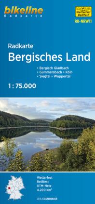 Bergisches Land fietskaart