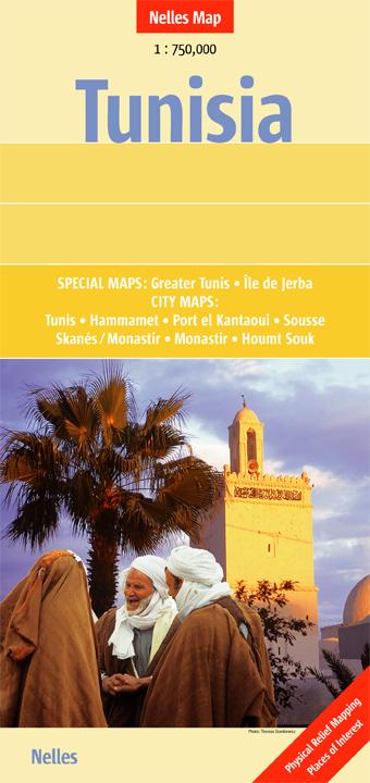 Nelles Map Tunisia 1 : 750 000