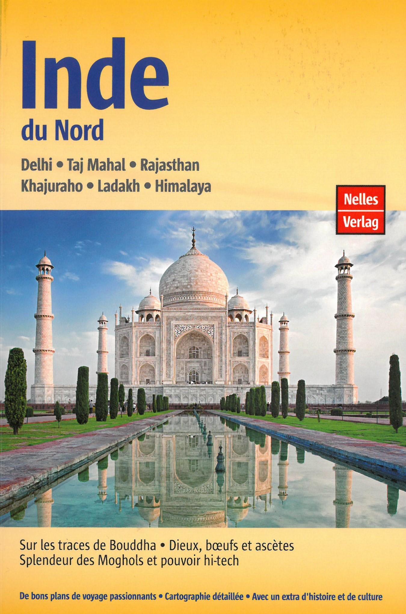 Inde du Nord Dehli-Taj-Mahal-Rajastan-Him.