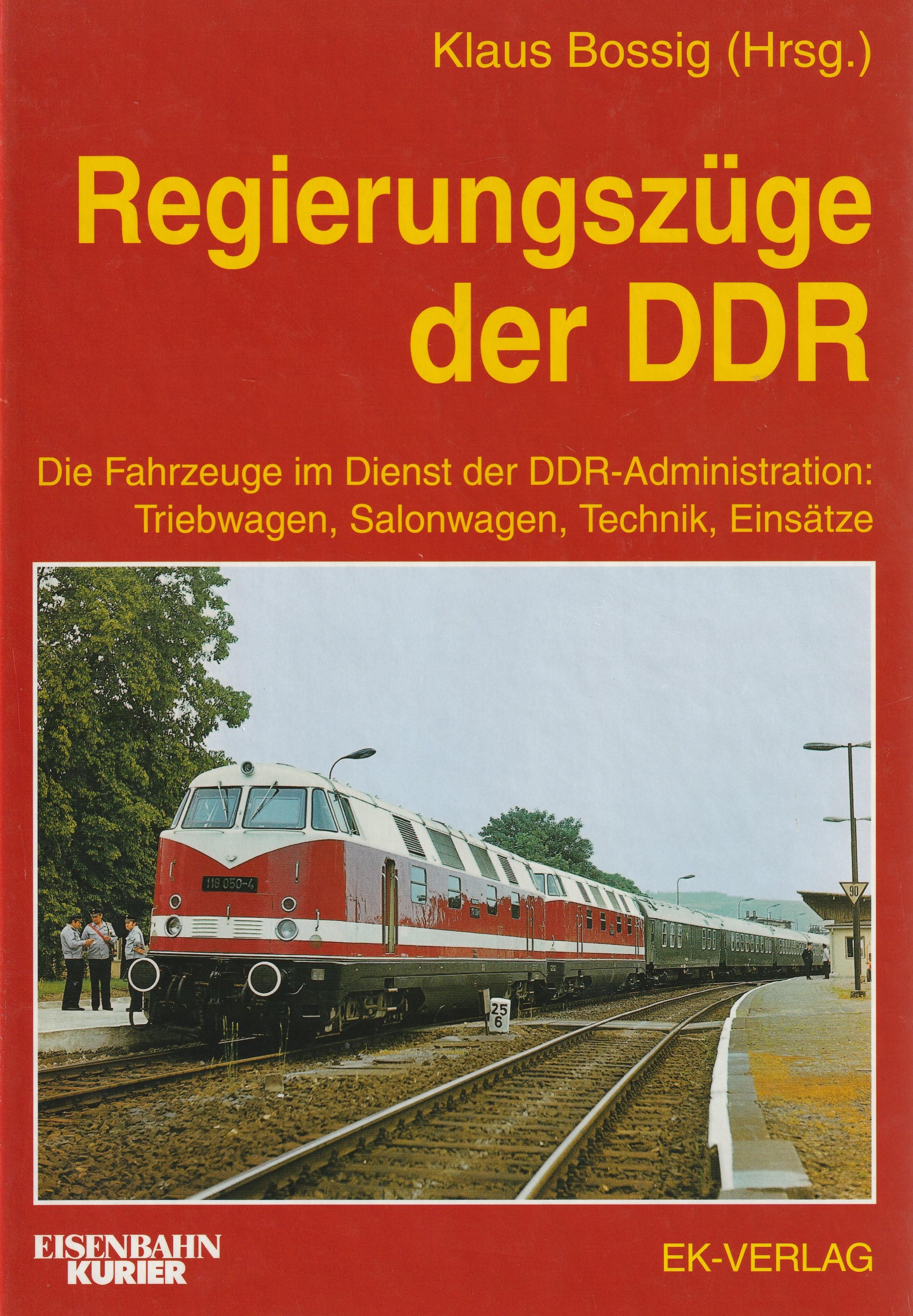Regierungszüge der DDR