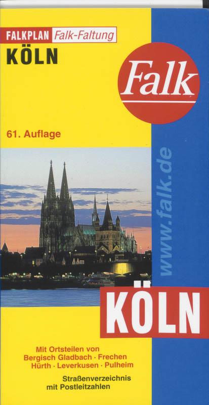 Falk Falkplan Falkfaltung Köln 1 : 23 000