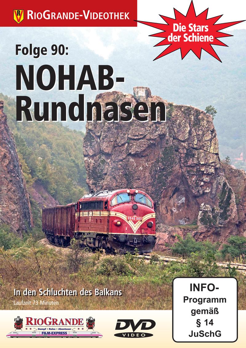 NOHAB Rundnasen - Stars der Schiene Folge 90