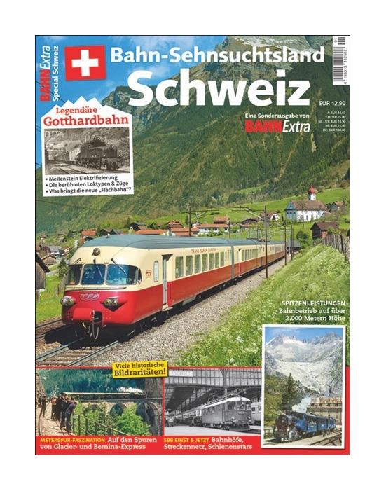 Bahn-Sehnsuchtsland Schweiz