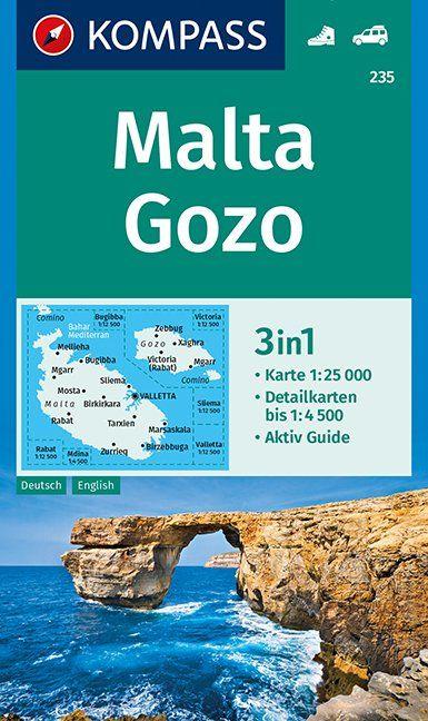 Malta, Gozo 1:25 000