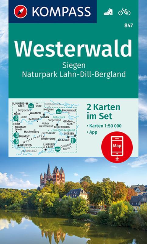 Kompass WK847 Westerwald, Siegen