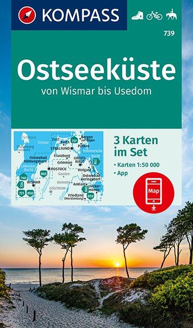 Kompass WK739 Ostseeküste Wismar-Usedom