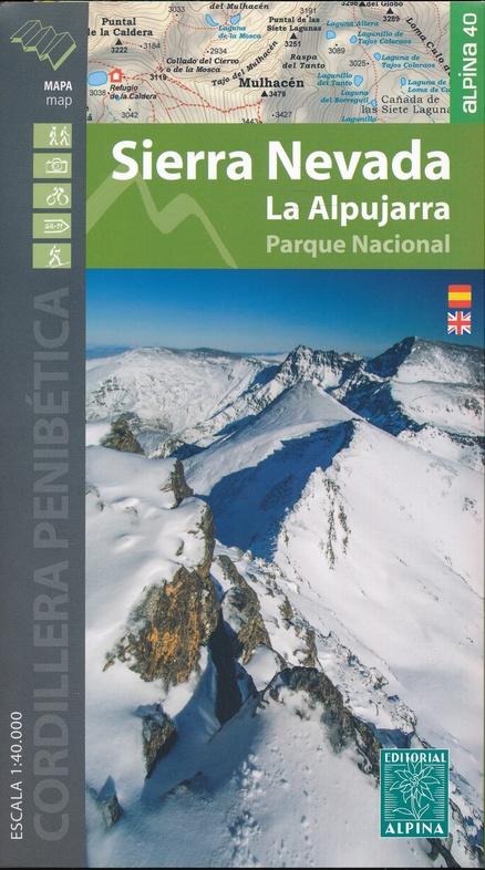 SIERRA NEVADA LA ALPUJARRA MAP&HIKING