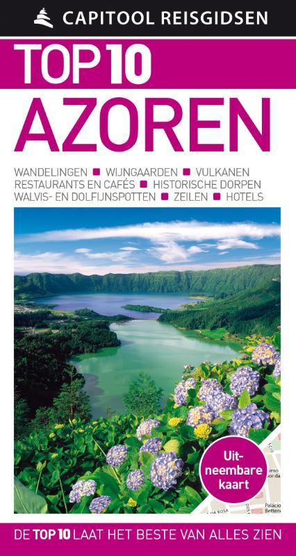 Capitool Top 10 Azoren + uitneembare kaart