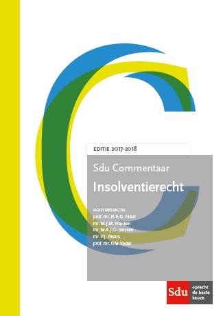 SDU Commentaar Insolventierecht