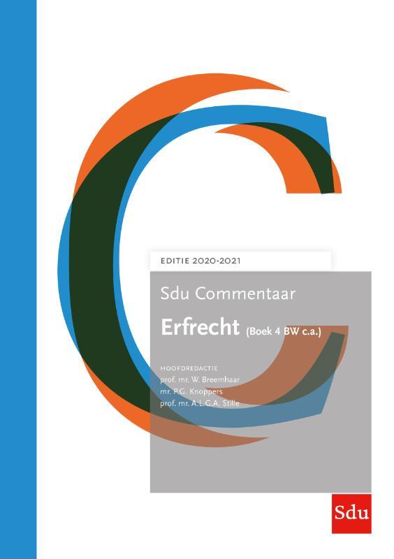Sdu Commentaar Erfrecht (Boek 4 BW c.a.) 2020-2021