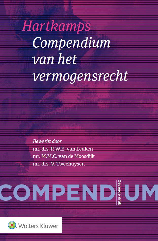Compendium Vermogensrecht voor de rechtspraktijk (Hartkamp)