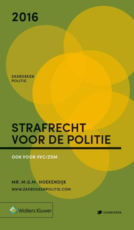 Zakboek Strafrecht voor de Politie