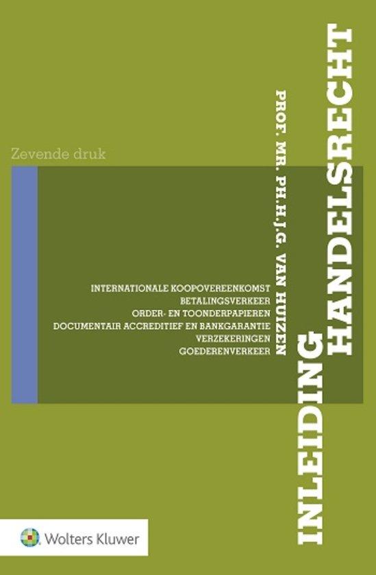 Inleiding Handelsrecht (Huizen)
