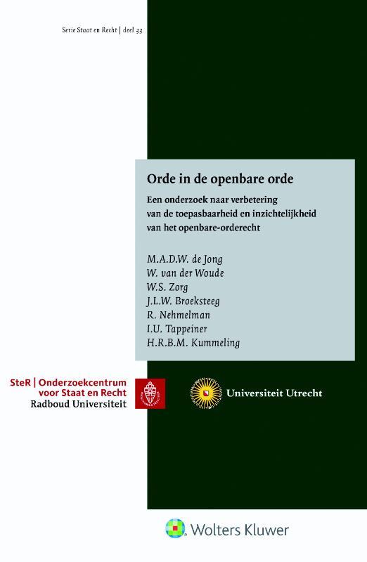 Orde in de openbare orde