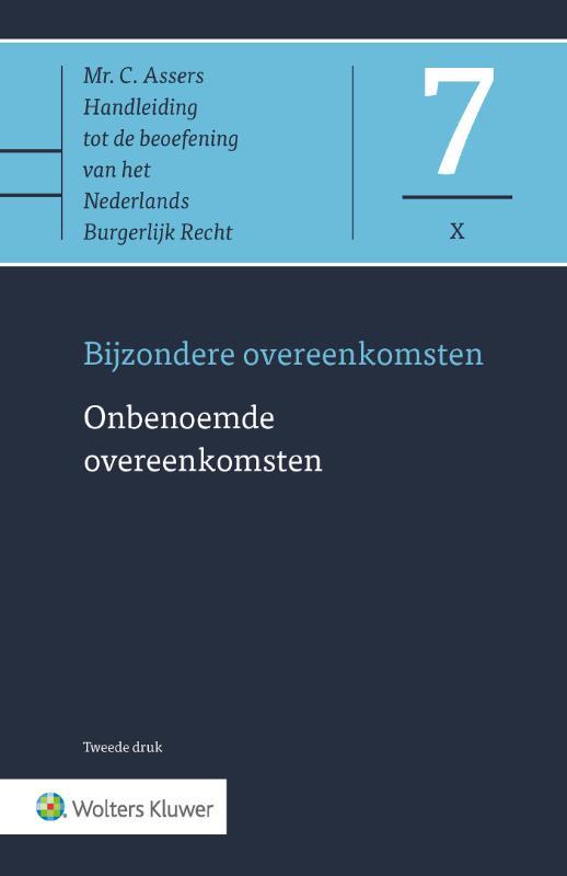 Asser 7-X - Bijzondere overeenkomsten - Onbenoemde overeenkomsten