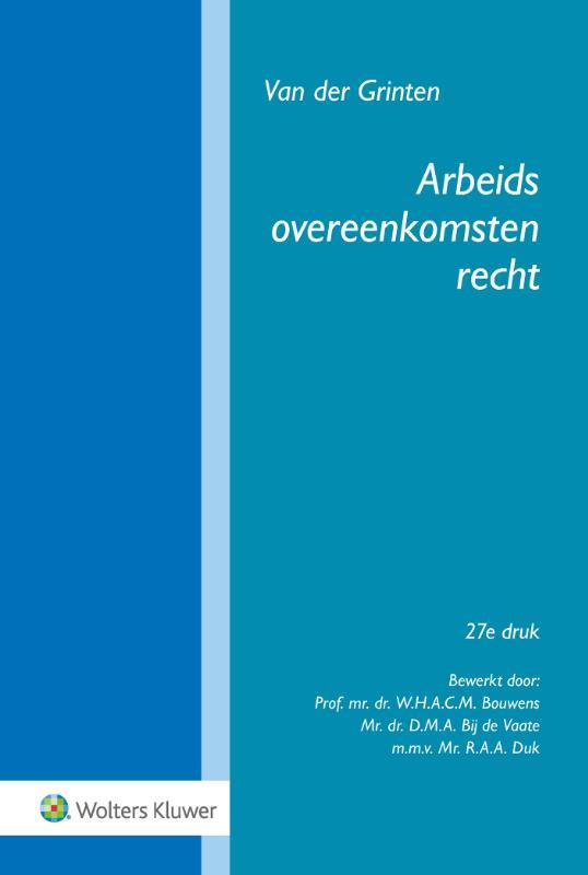 Arbeidsovereenkomstenrecht (Grinten)