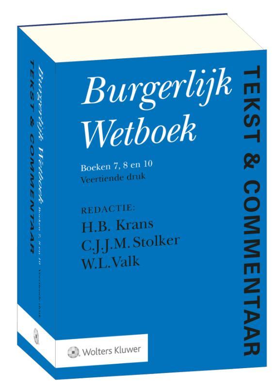 Tekst & Commentaar Burgerlijk Wetboek (set)