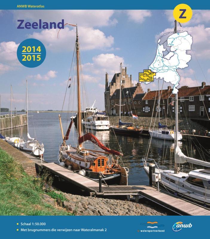 ANWB wateratlas Z : Zeeland 2015-2016