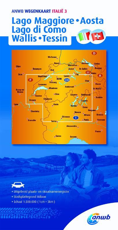 Italië 3. Lago Maggiore,Lago di Como,Aosta,Wallis,Tessin