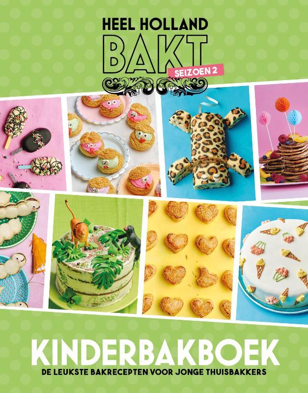 Heel Holland bakt kinderbakboek seizoen 2