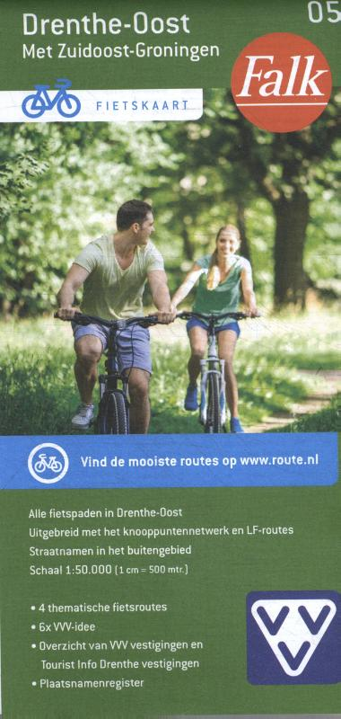 Falk VVV fietskaart 05 Drenthe-Oost