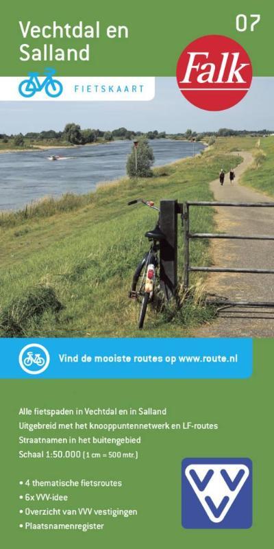 Falk VVV fietskaart 07 Vechtdal en Salland