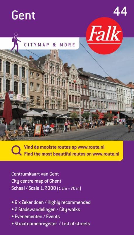 Falk city map & more 44 Gent 1e druk recente uitgave
