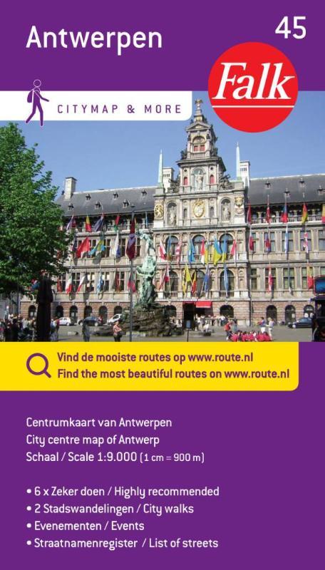 Falk city map & more 45 Antwerpen centrumkaart