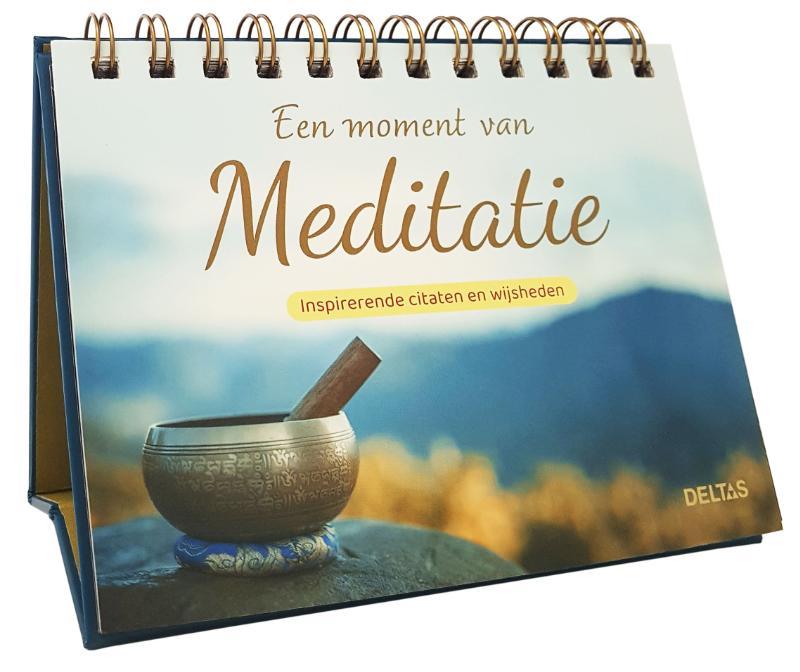 Een moment van meditatie - Tafelstaander