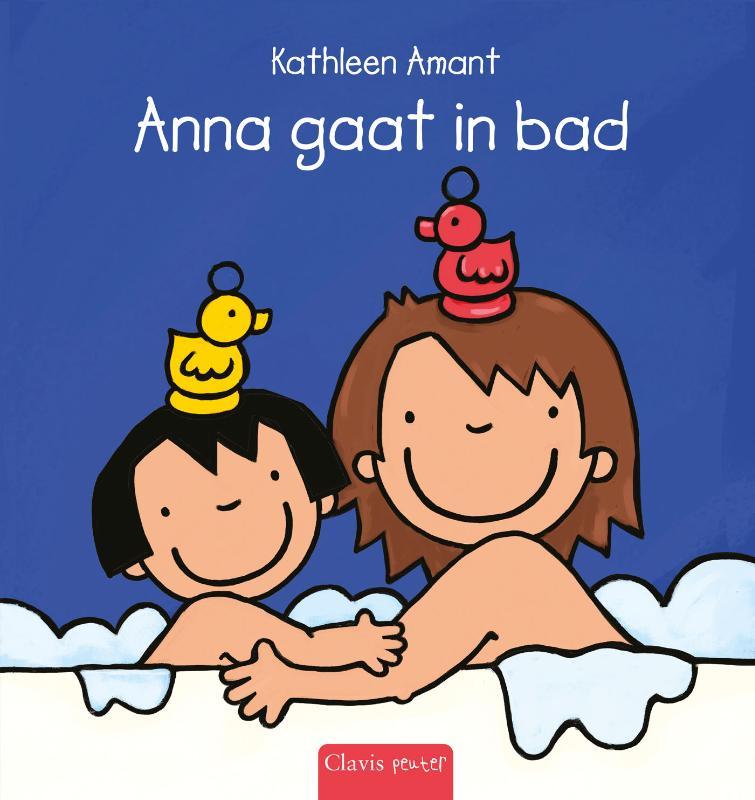 Anna gaat in bad