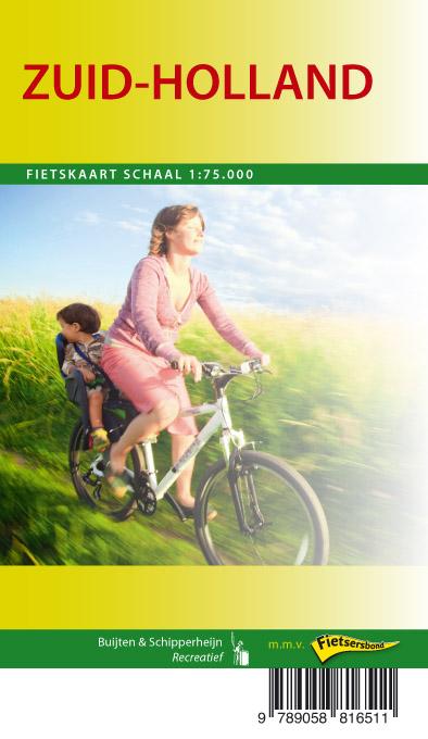 Zuid-Holland fietskaart regio