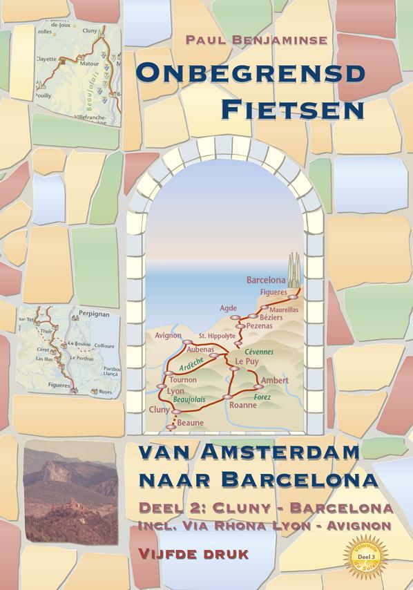 Barcelona fietsen naar - Cluny - Barcelona