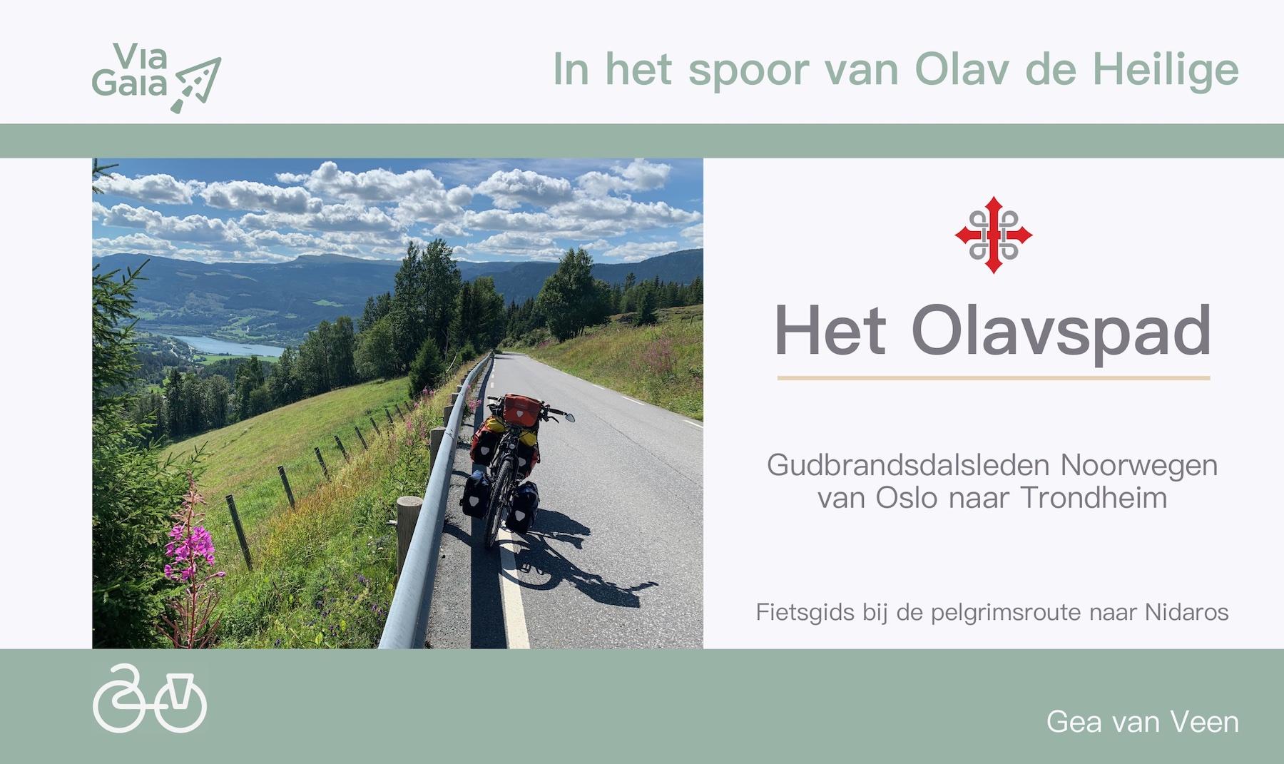 Het Olavspad - Van Oslo naar Trondheim.