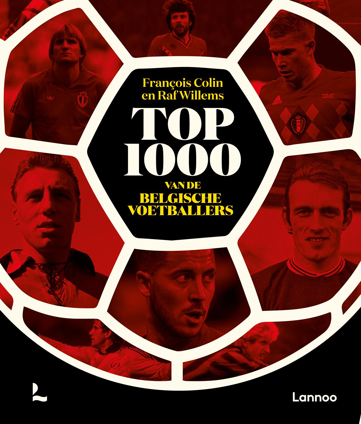 Top 1000 van de Belgische voetballers