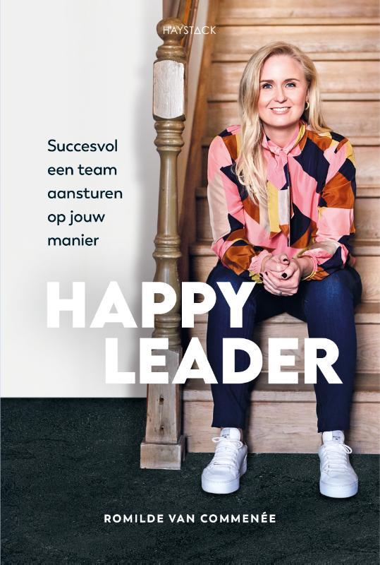 Happy leader