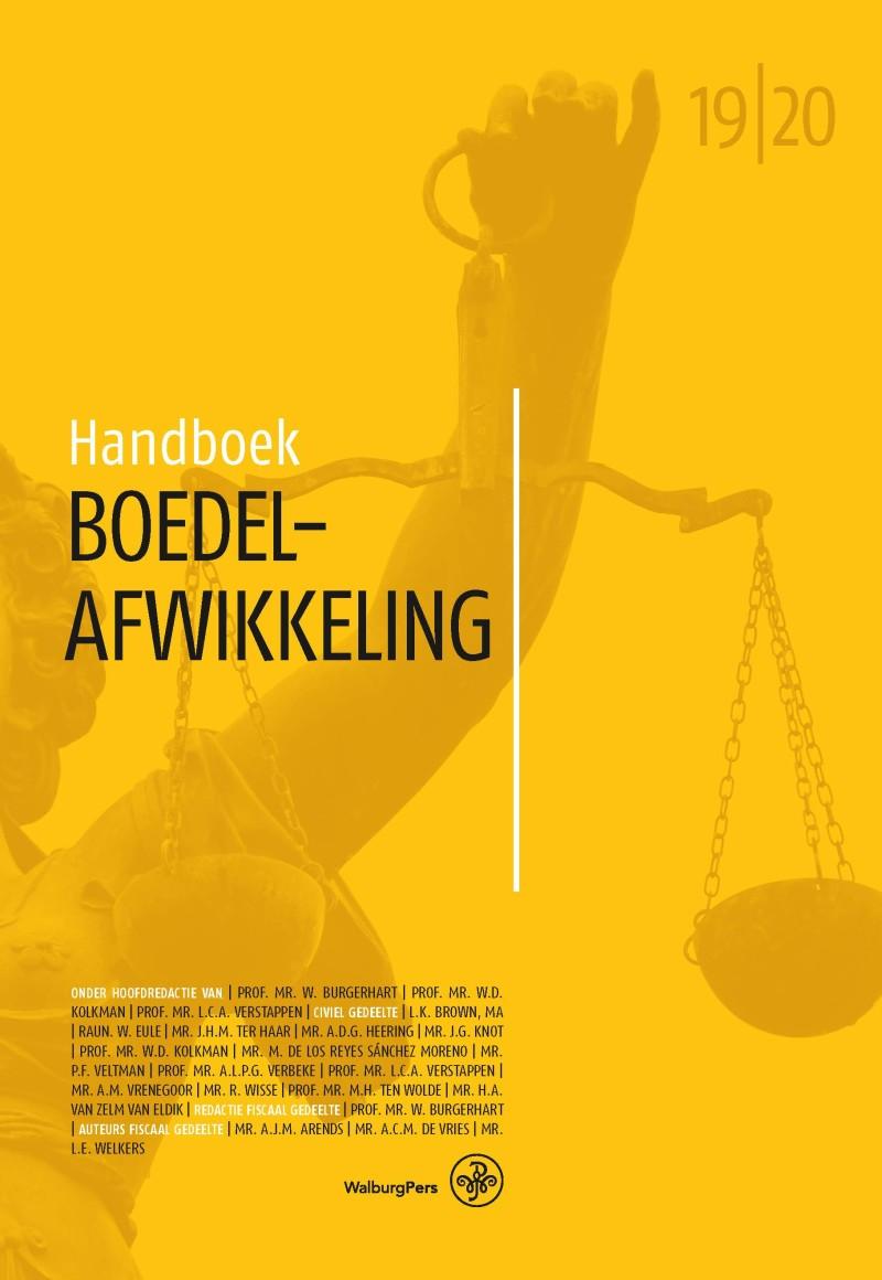 Handboek Boedelafwikkeling