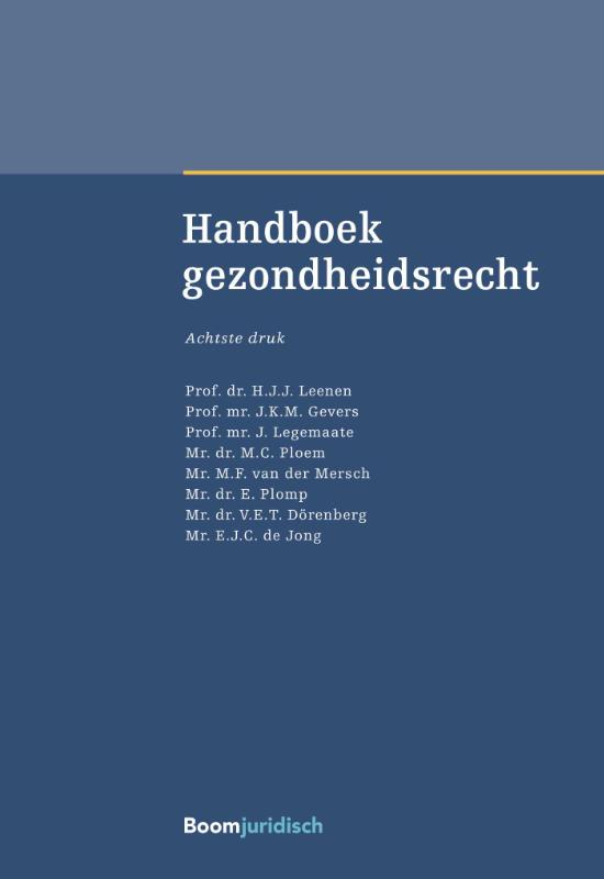 Handboek gezondheidsrecht (Leenen)