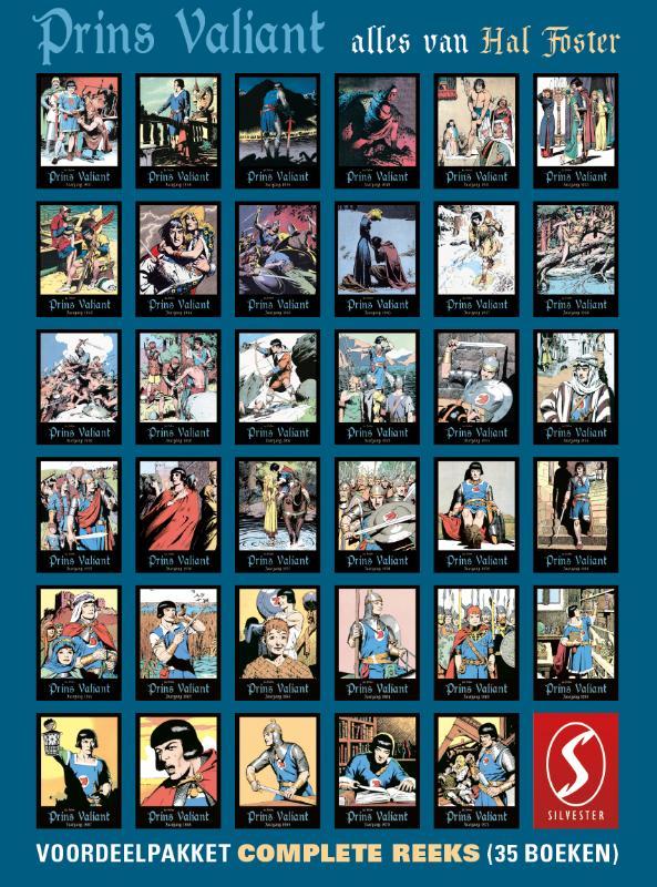 Prins Valiant: Complete reeks voordeelpakket (35 delen)