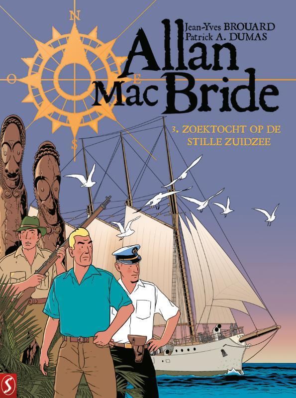 Allan Mac Bride 3: Zoektocht in de Stille Zuidzee