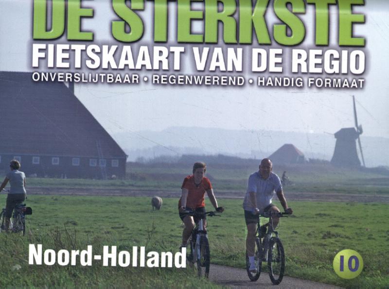 De sterkste fietskaart regio Noord-Holland