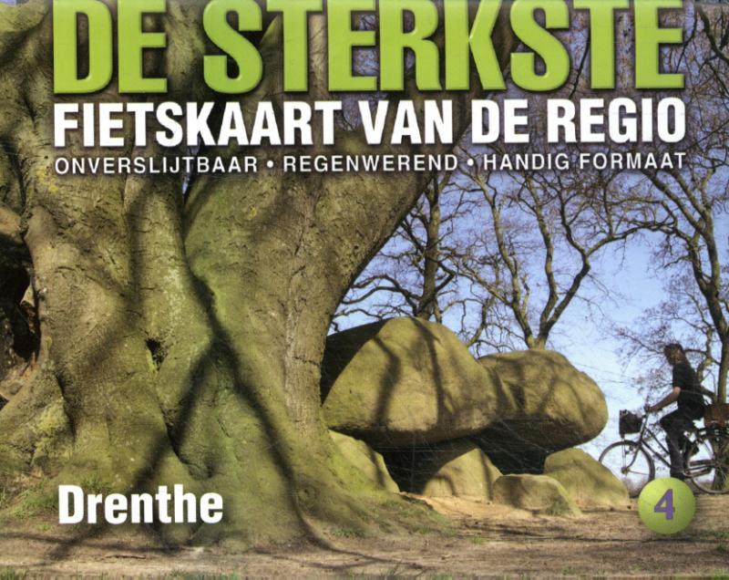 De sterkste fietskaart van Drenthe
