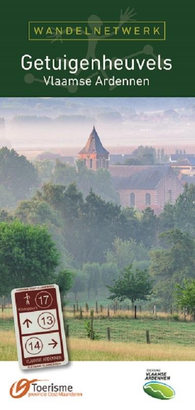 Getuigenheuvels wandelnetwerk Vlaamse Ardennen + inspiratiegids