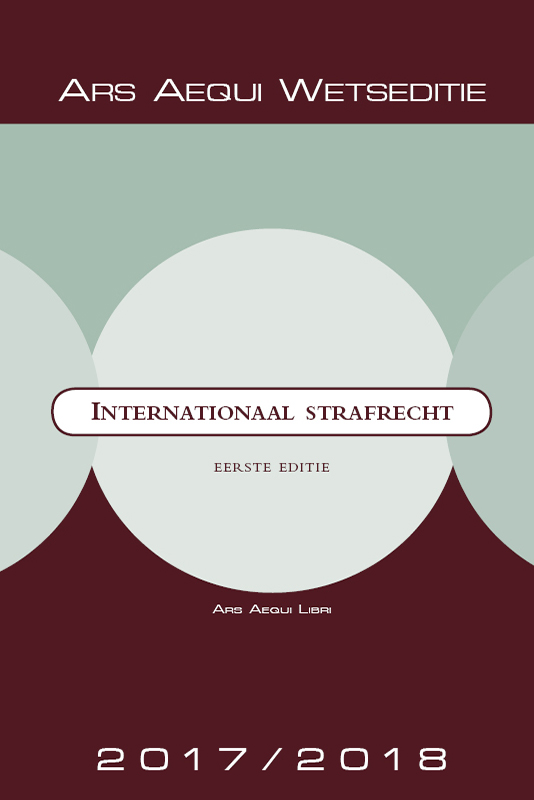 Ars Aequi Wetseditie Internationaal Strafrecht