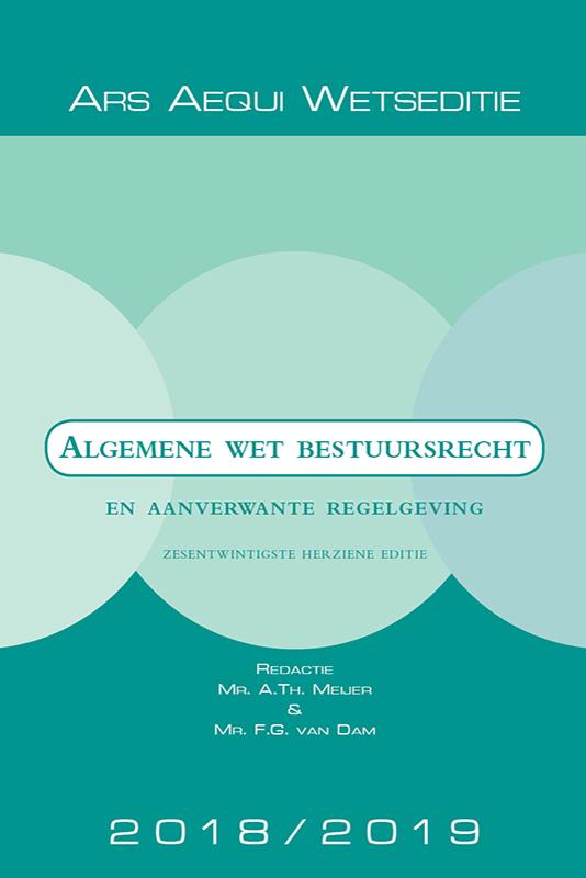 Ars Aequi Wetseditie Algemene wet bestuursrecht