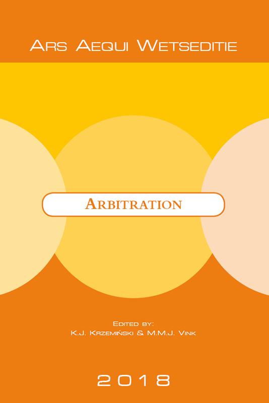 Ars Aequi Wetseditie Arbitration