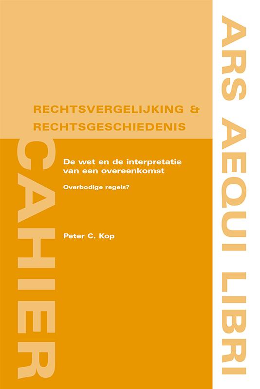 Ars Aequi Cahiers Rechtsvergelijking & Rechtsgeschiedenis