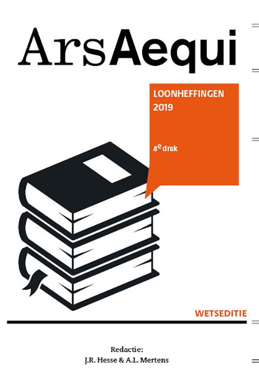 Ars Aequi Wetseditie Loonheffingen