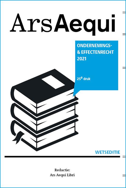 Ars Aequi Wetseditie Ondernemings- en Effectenrecht